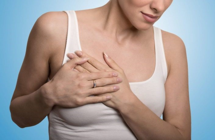 fibrocystic breast disease - Breast